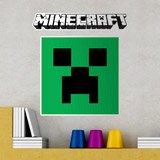 Wandtattoos: Minecraft logo 6
