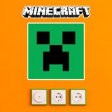 Wandtattoos: Minecraft logo 7
