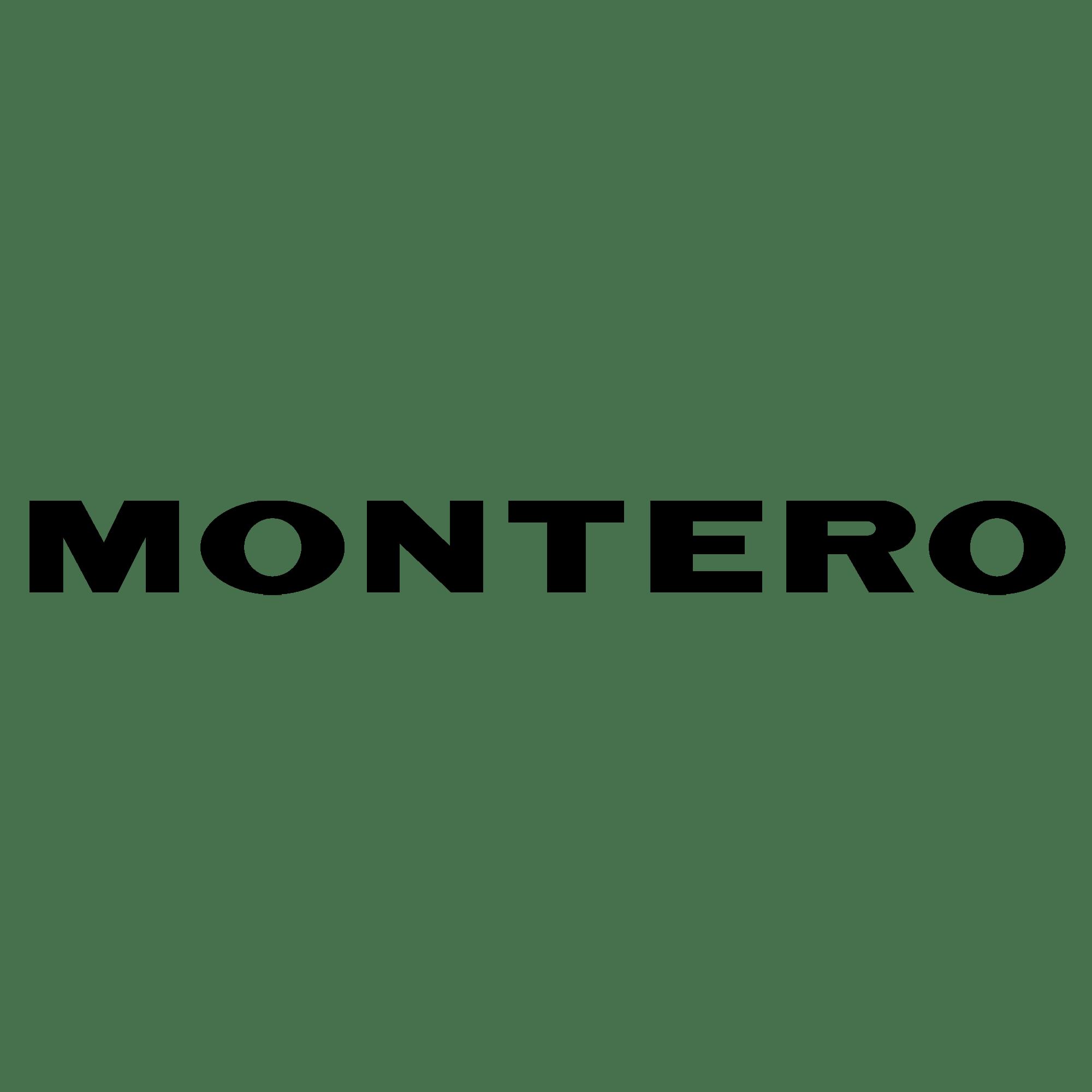 Aufkleber: Montero
