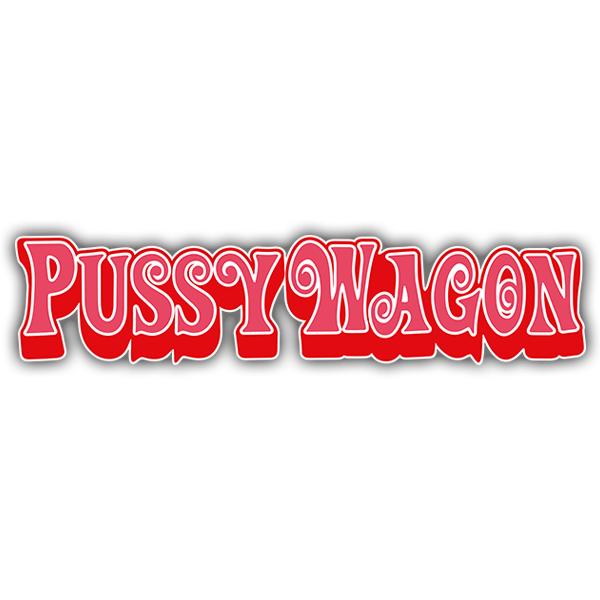 Aufkleber: PussyWagon