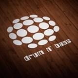 Aufkleber: Drum n Bass 2