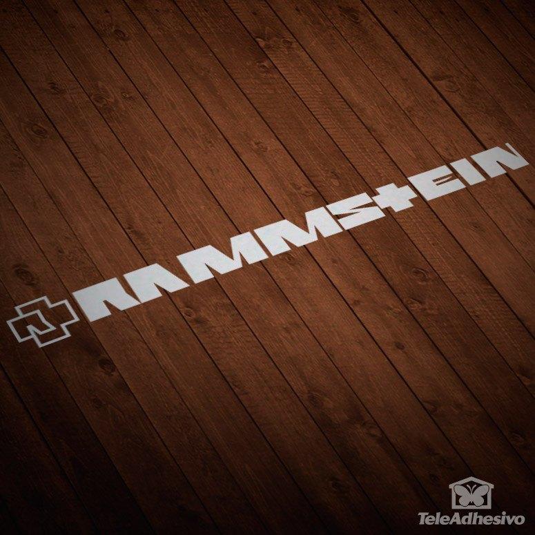 Aufkleber: Rammstein