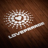 Aufkleber: Love Parade 1