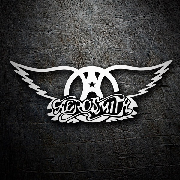 Aufkleber: Aerosmith Rock Metal