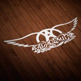 Aufkleber: Aerosmith Rock Metal 2