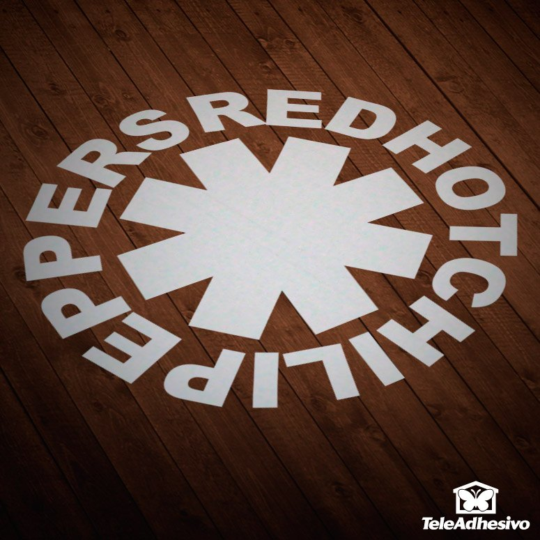 Aufkleber: Red Hot Chili Peppers