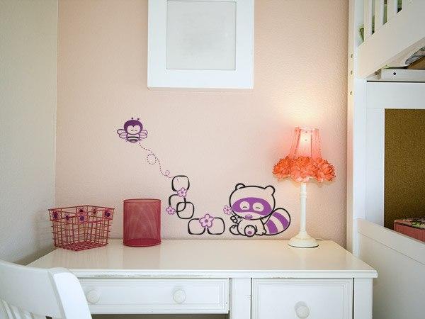 Kinderzimmer Wandtattoo: Vielfarbig Liss