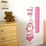 Kinderzimmer Wandtattoo: Multicolour Animals Meter 2