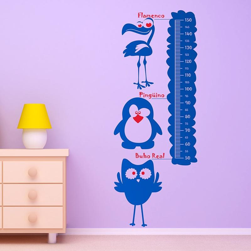 Kinderzimmer Wandtattoo: Multicolour Animals Meter