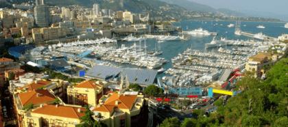 Wandtattoos: Monaco - Montecarlo