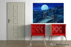 Wandtattoos: China Great Wall in der Nacht 1