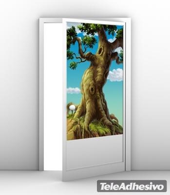 Wandtattoos: Großer Baum mit Wurzeln