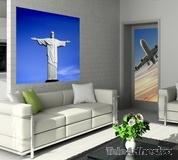 Wandtattoos: Statue von Jesus in Brasilien 3