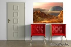 Wandtattoos: Landschaft von einem anderen Planeten 3