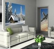 Wandtattoos: Schneebedeckten Landschaft 3