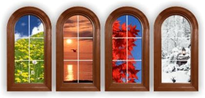 Wandtattoos: Fensters