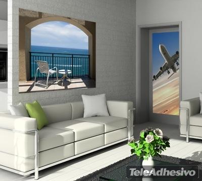 Wandtattoos: Terrasse