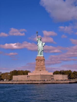 Wandtattoos: Estatua de la libertad