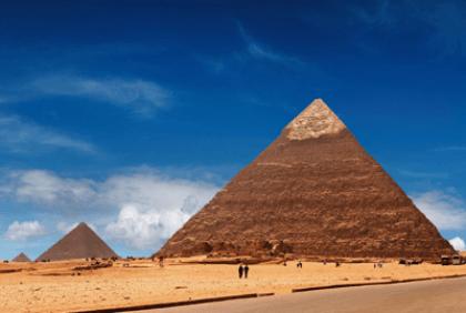 Wandtattoos: Ägyptischen pyramide