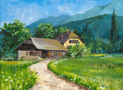 Wandtattoos: Ferienhaus