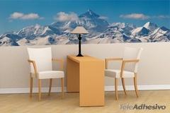 Wandtattoos: Schneebedeckte Berge 3