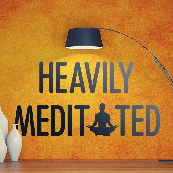 Wandtattoos: Heavily Meditated