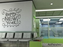 Wandtattoos: Happy new year 1