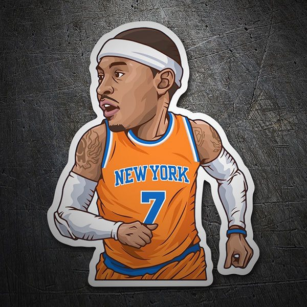 Aufkleber: NBA - Carmelo Anthony
