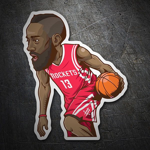 Aufkleber: NBA - James Harden