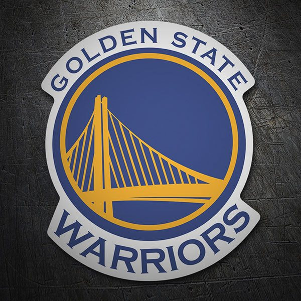 Aufkleber: NBA - Golden State Warriors schild