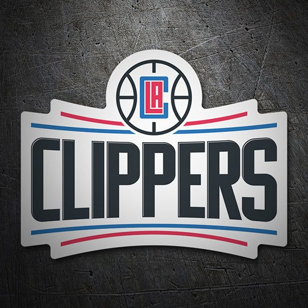 Aufkleber: NBA - Los Angeles Clippers schild