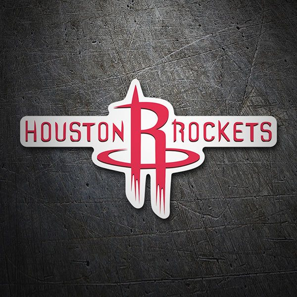 Aufkleber: NBA - Houston Rockets Schild