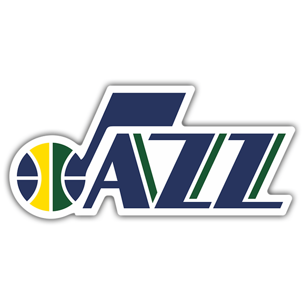 Aufkleber: NBA - Utah Jazz shield