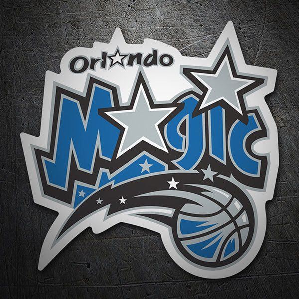 Aufkleber: NBA - Orlando Magic altes schild