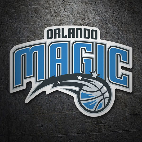 Aufkleber: NBA - Orlando Magic schild