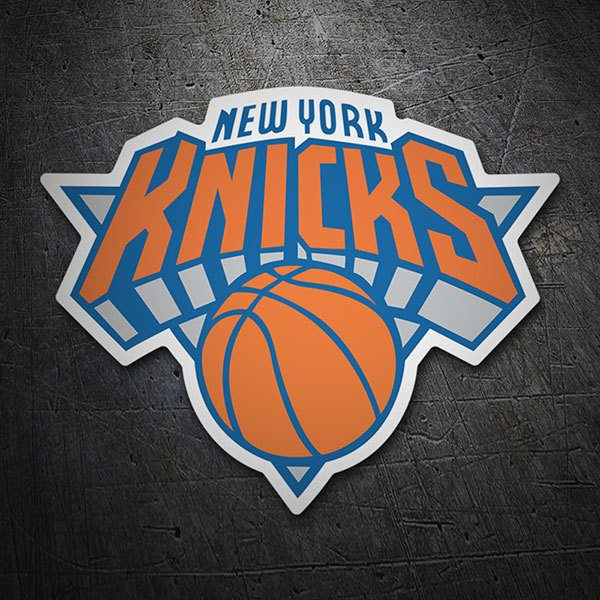 Aufkleber: NBA - New York Knicks schild