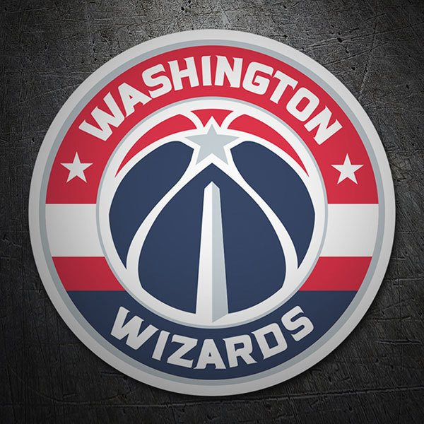 Aufkleber: NBA - Washington Wizards schild