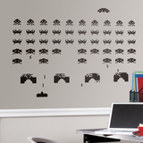 Wandtattoos: Space Invaders 0