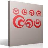 Wandtattoos: Kit 7 circles B 4