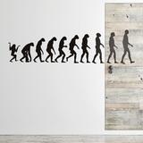 Wandtattoos: Evolution 0