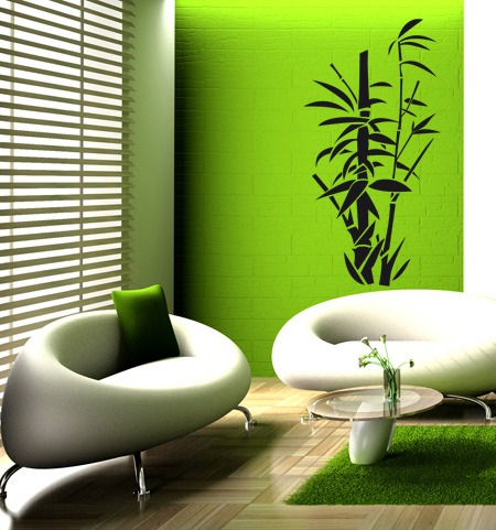 Wandtattoos: bamboo