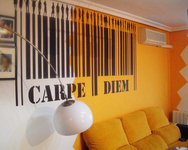 Wandtattoos: Carpe Diem