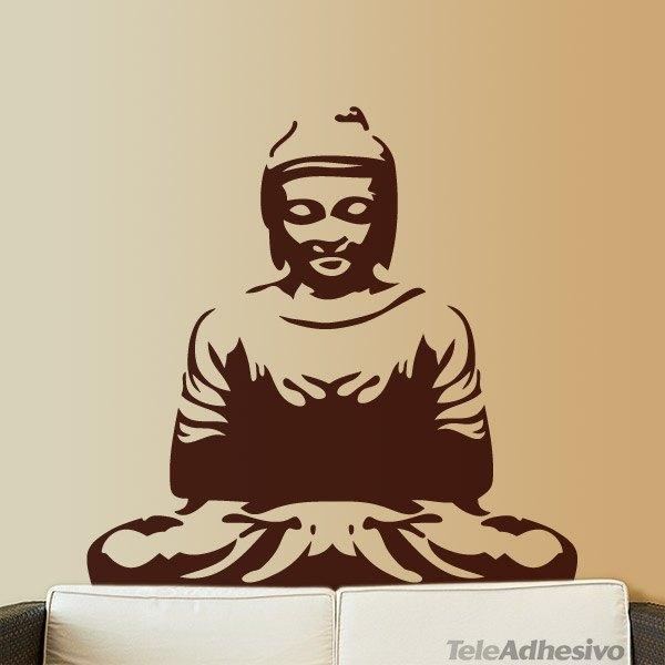 Wandtattoos: Buddha
