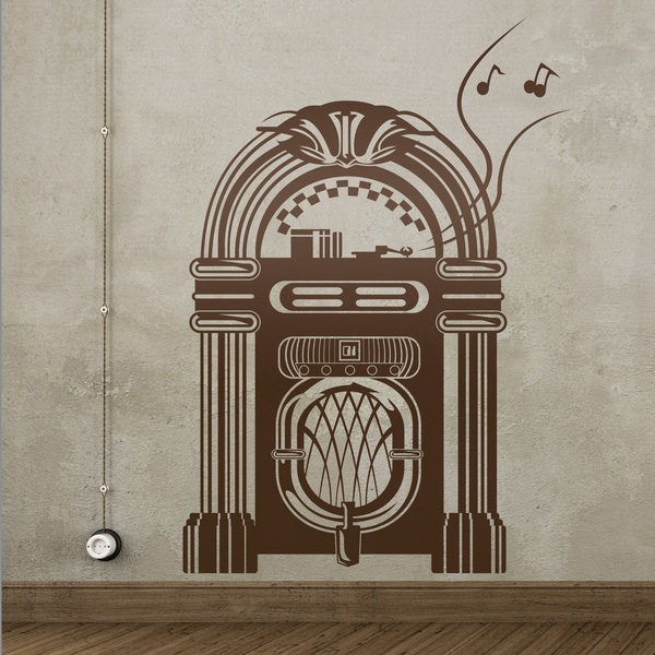 Wandtattoos: Jukebox Wurlitzer