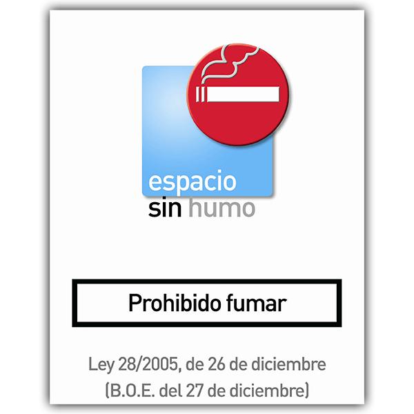 Aufkleber: without smoke 8