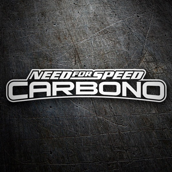 Aufkleber: Need for Speed Carbono