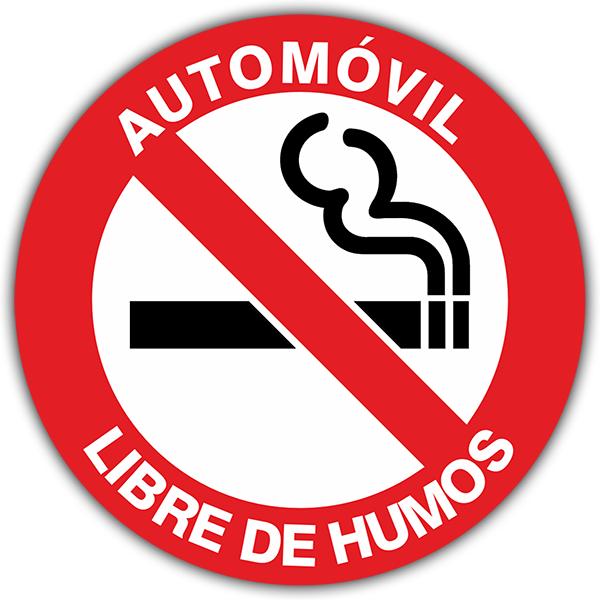 Aufkleber: No smoking 2