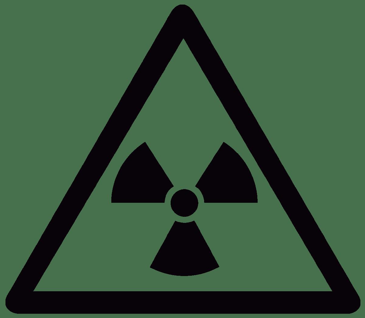 Aufkleber: Atomic Danger