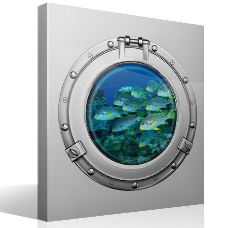 Wandtattoos: Schwarmfisch 1