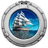 Wandtattoos: Segelschiff 1 5